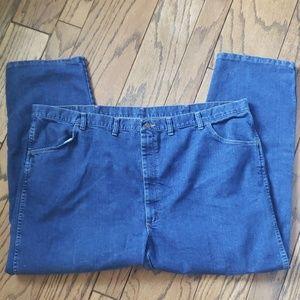 Mens sz 50 x 30 Wrangler Straight Leg Jeans